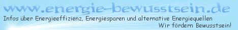 energie-bewusstsein.de - Infos �ber Energiesparen, Energieeffizienz und alternat